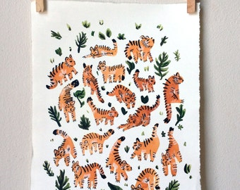 Tigers! Print