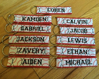 9 Personalized bag tags Team order