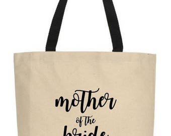 Mother of the Bride, Mother of the Groom, Mother of the Bride Gift, Mother of the Groom Gift, Mother of the Bride Tote, Mother Groom Tote
