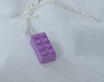 Lego Brick Necklace, many colours available