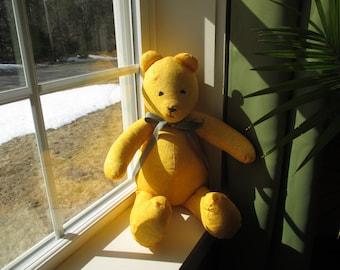 "Handmade 18"" Sunshine Teddy Bear"