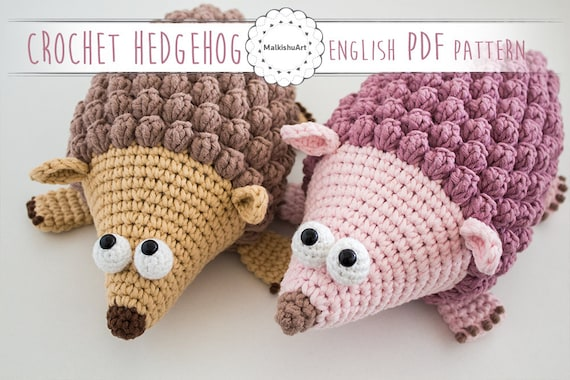 Danny The Hedgehog Hedgehog Crochet Pattern Crochet Hedgehog