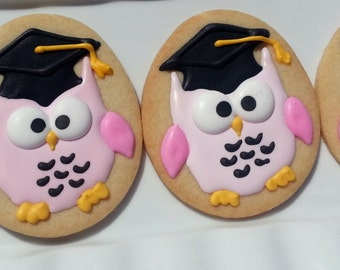 Graduation Owl  One Dozen