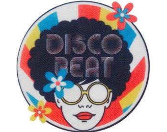 Disco beat hippie love flower Power patches appliqué Patch application #9456