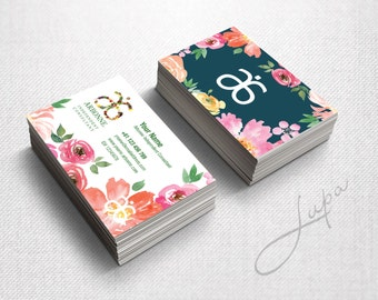 Arbonne Business Cards 06 - digital files supplied only