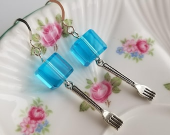 SMELLS LIKE FISH - Doctor Who Inspired Earrings - Bill Potts Jelly
