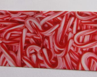satin ribbon,set of 2 meter, ribbon 40mm wide, candy ribbon