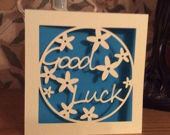 Papercut - Good Luck Card