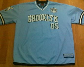 FUBU jersey, Fubu City Series, vintage Brooklyn t-shirt of 90s hip-hop clothing 1990s rap OG XL