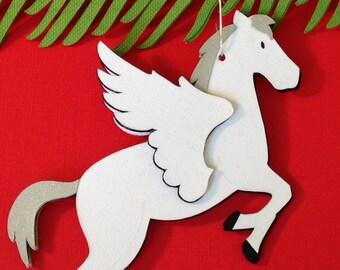 Pegasus Christmas tree ornament