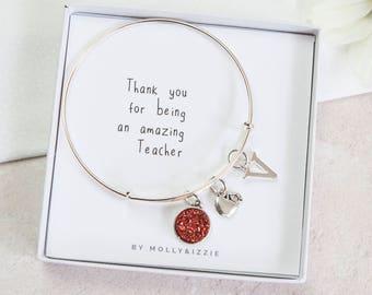 Teacher appreciation gift, Personalised teacher christmas gift, end of term gift, teacher thank you, leaving gift, teacher present