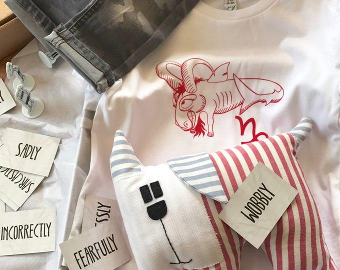 Capricorn Zodiac - Organic Toddler T-shirt