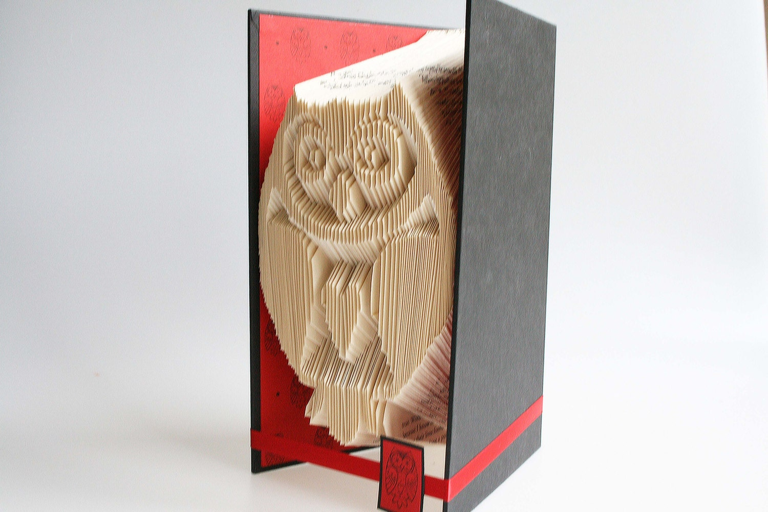 Book Folding Pattern Owl Includes Free Printable
