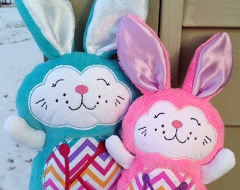 Easter Bunny - Stuffed toy bunny - Handmade - Easter Rabbit - soft toy - Bunny Rabbit