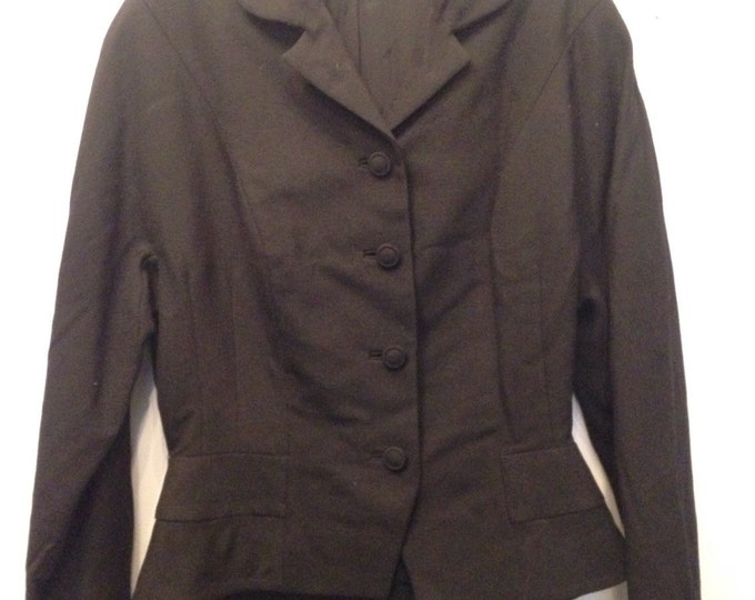 1940/50's Youthcraft Blazer with bow detail on back.