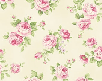 Love Rose Love 2300-13A by Quilt Gate USA Cotton Fabric Yardage