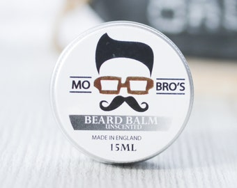 Mo Bro's - Unscented Beard Conditioning Balm 15ml