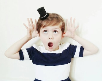 Mini top hat hair clip - For Boys and Girls - Mini Hats - Tip Your Top Hat