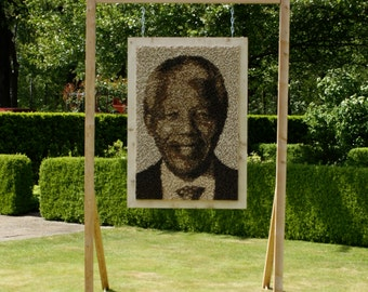 Portrait Nelson Mandela