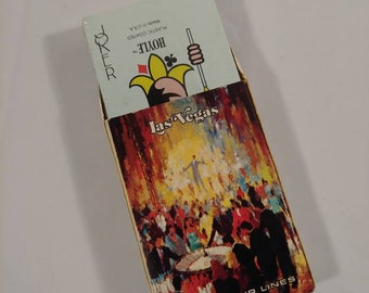 Vintage Sealed Lad Vegas Delta Airlines Playing Cards
