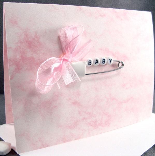 Newborn baby girl card congratulations baby card baby zoom m4hsunfo