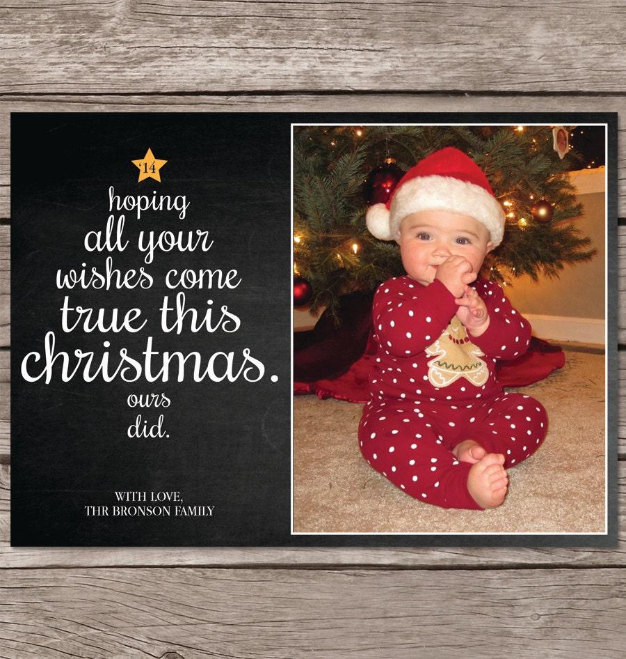 Christmas card with photo photo christmas card christmas zoom m4hsunfo