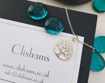 Sterling Silver Tree of Life Necklace.