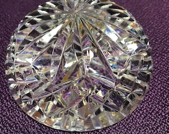 Waterford Crystal Dome Paperweight Solid