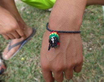 Handmade rasta bracelet, Rasta Bracelet / Anklet
