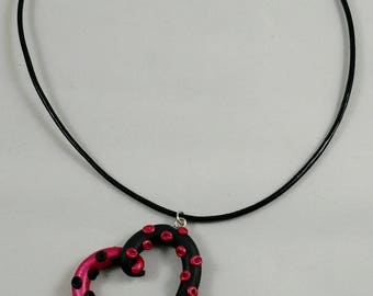 Polymer clay Tentacle Heart