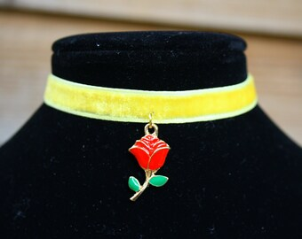 Beauty and the Beast Belle Inspired Choker