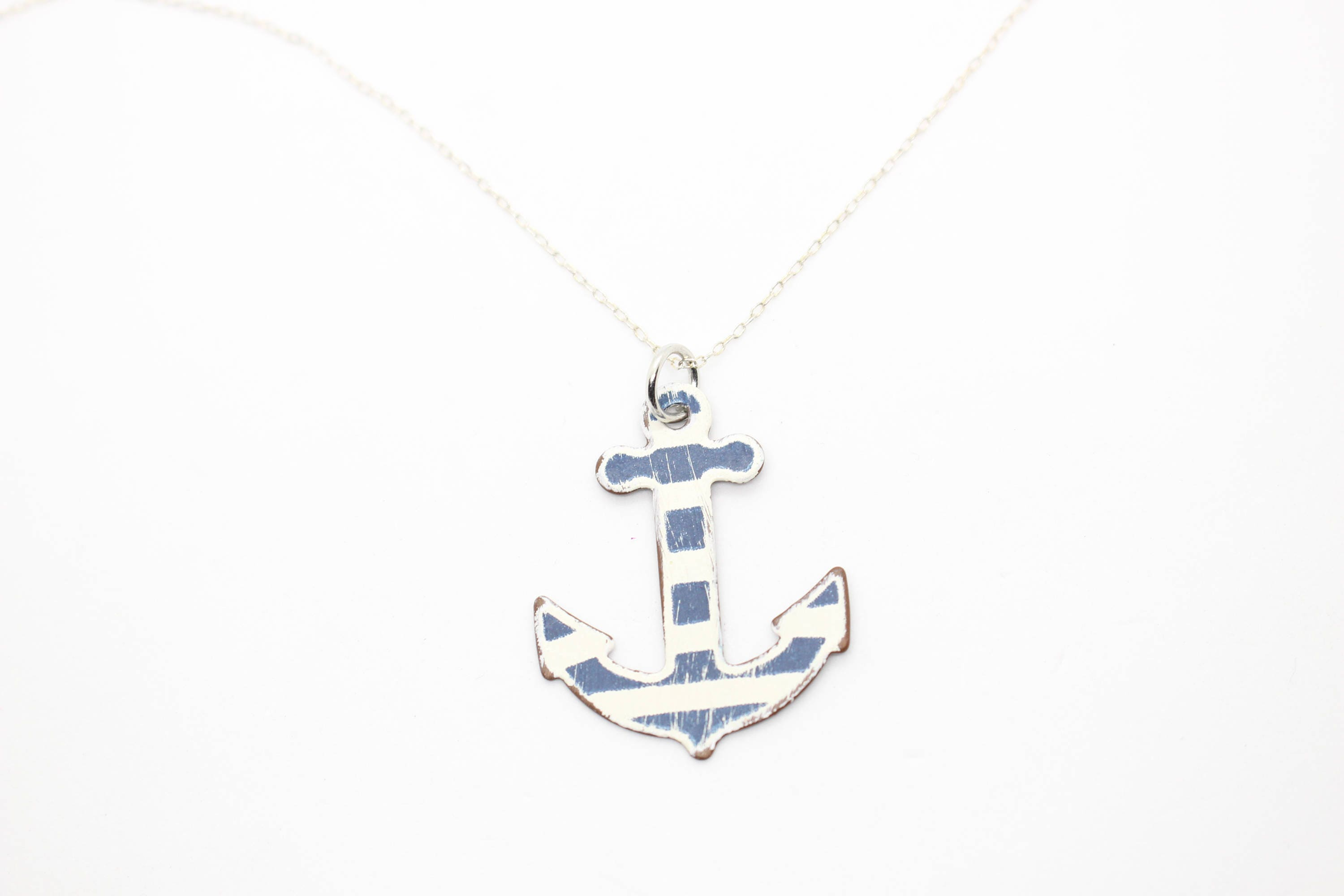 anna of london lou mg birthstone products initial anchor necklace