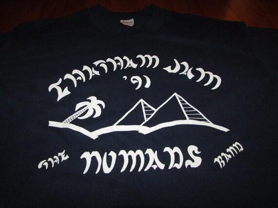 Super Rare Vintage The Nomads Band concert t shirt DIWiMMzTxw