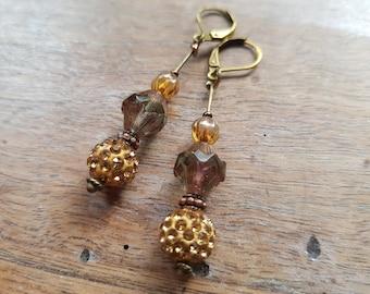 Lise rhinestone earrings