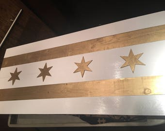 Art Deco Chicago Flag