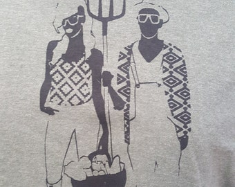 FARMING IS SEXY Unisex t-shirt