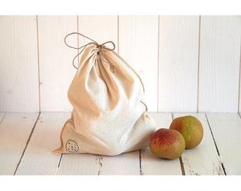 bulk large organic cotton bag