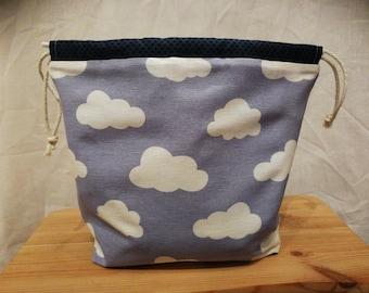 Nuage DrawString sac bleu foncé