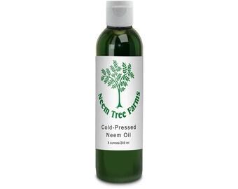 All-Natural Neem Oil  ~ Eight Ounces (8 ozs)