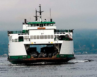 Ferry Image, Incoming Ferry, Washington State Ferries, Washington State Photos,