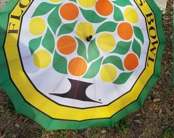 Vintage Florida Citrus Bowl Umbrella