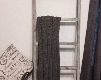 Blanket Ladder - Weathered grey
