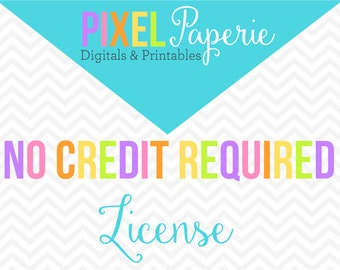 no credit license for commercial use clip art clipart papers stamps printables - Commercial Use No Credit License for ALL Graphic Sets