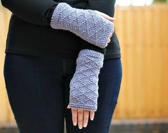 KNITTING PATTERN, Fingerless Gloves Pattern, Knit Gloves Pattern, Womens Knit Gloves, Fingerless Gloves, Mitten Pattern, Gloves, Womens