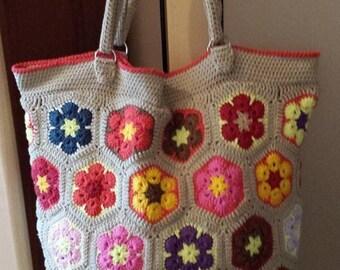 Crochet Bag.Crochet bag big.