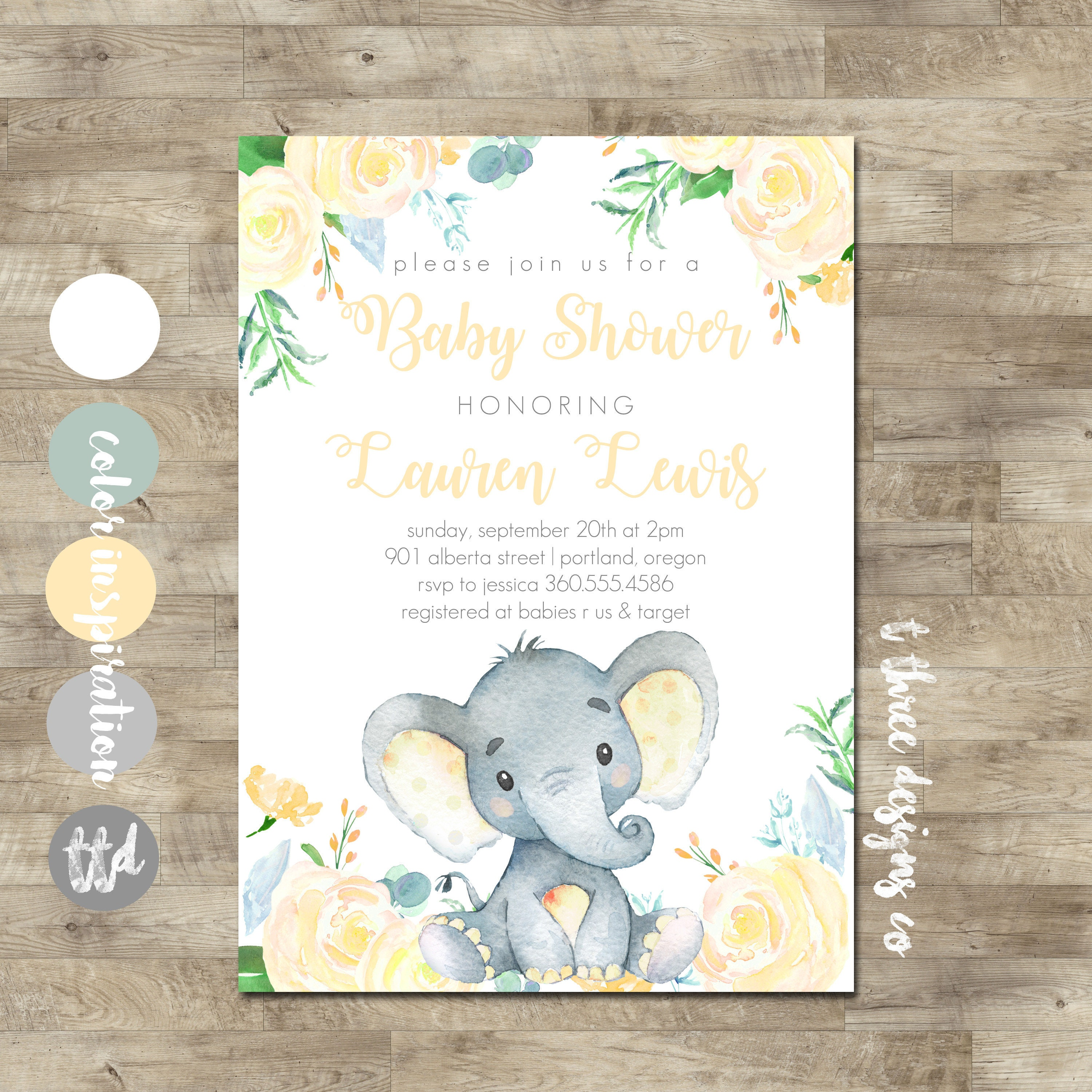 shower invitations party scl supplies blue baby full safari city