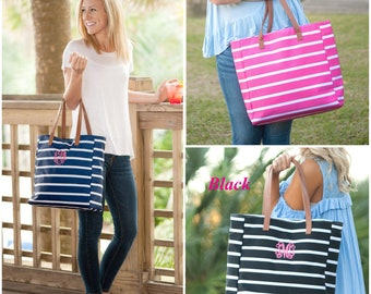 Monogram Stripe Purse, Monogram Purse, Monogram Stripe Handbag, Monogram Shoulder Bag, Monogram Tote, Personalized Purse, Bridesmaids Gifts