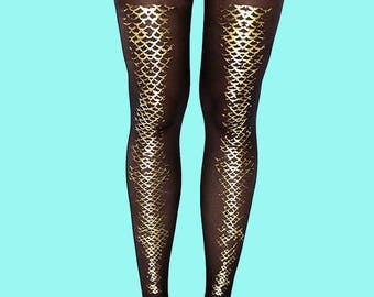 Shark tights, sheer black tights, gift ideas, Christmas gift available in S-M, L-XL
