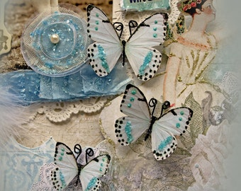 Reneabouqeuts Handcrafted Butterfly Set - Tiny Dancer Butterflies