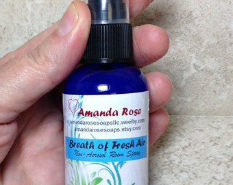 Room Spray, Room Deodorizer, Breath of Fresh Air Room Spray - 2 oz